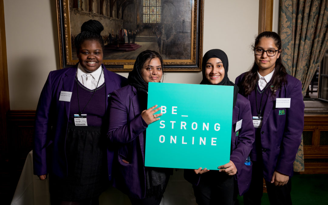 Check out Be Strong Online Ambassadors in action in Oxford!